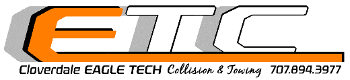 Eagle Tech Collision logo